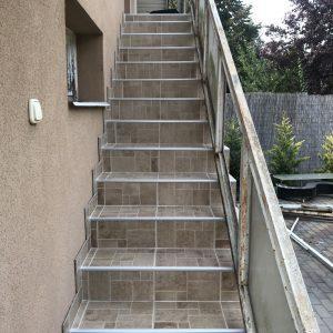 Dunavarsány lépcsőfelújítás