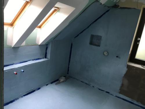 Emeleti fürdőszoba vízszigetelése