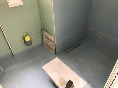 Fürdőszoba burkolat kiosztása