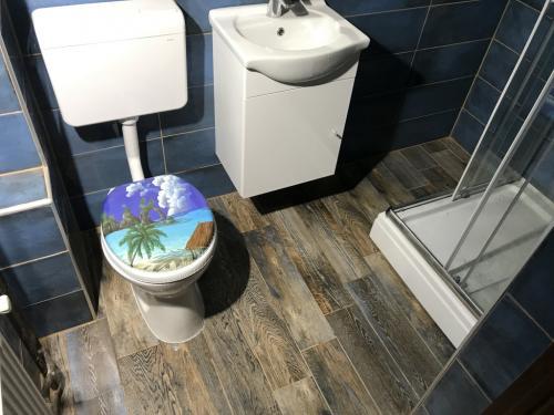 Elkészült fürdőszoba
