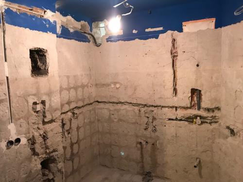 Fürdőszobabontás