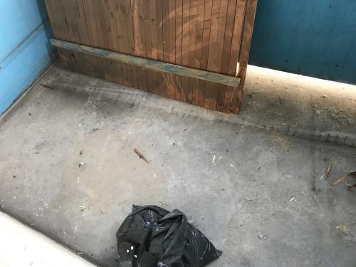 Felbontott erkélypadló