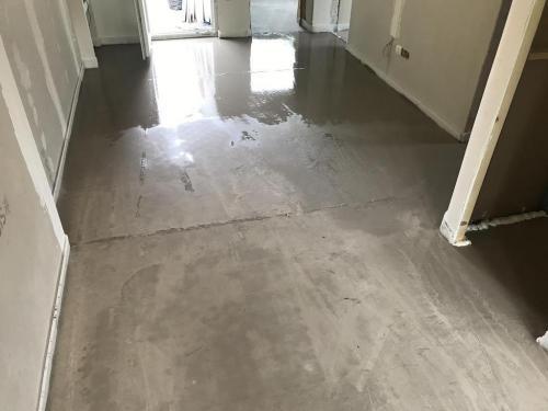 Aljzat a padlófűtésen