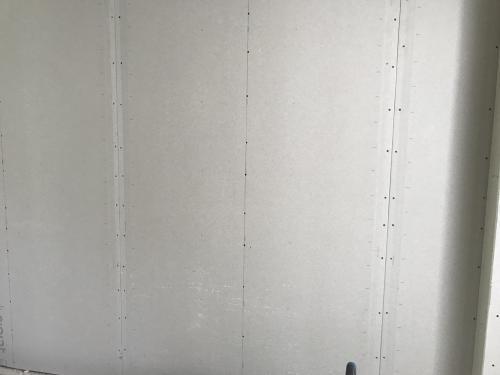 Gipszkarton táblák glettelés előtti erősítése bandázsszsalaggal