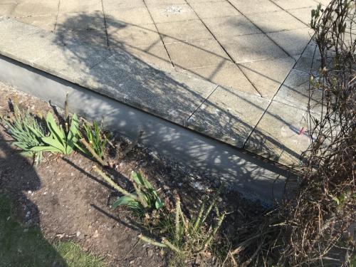 40 x 40 x 4 cm-es terasz burkolat