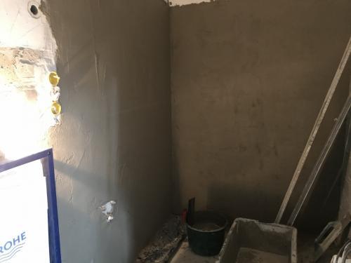 Fürdőszoba vakolás