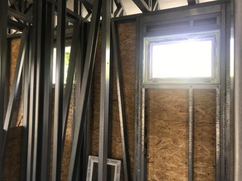 Fürdőszoba ablak 3 rétegű üvegezéssel