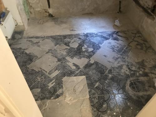 Burkolandó padló